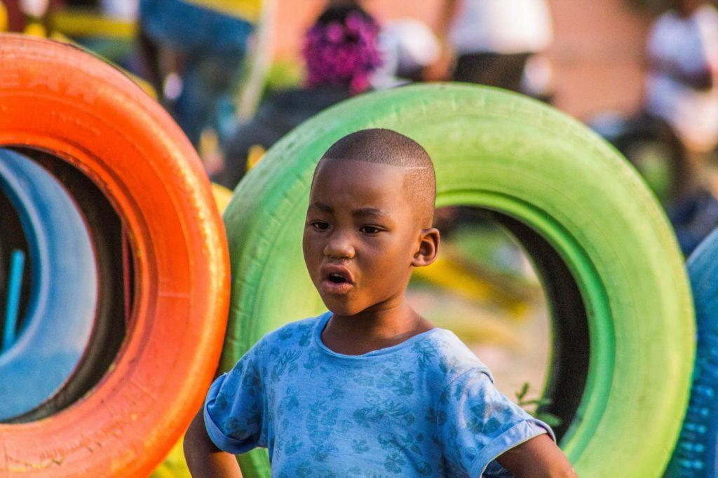 Enfant africain togo